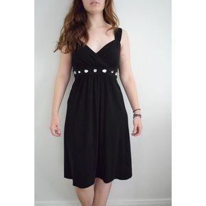 Simple Black Karin Stevens Dress